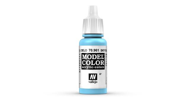 Vallejo Model Colour Sky Blue 17ml
