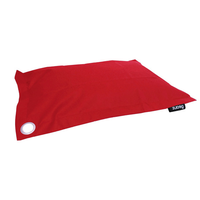 Pawz & Clawz Pet Bean Bag Unfilled Xlarge - Red