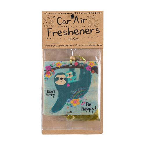 Natural Life: Air Freshener - Don't Hurry Sloth