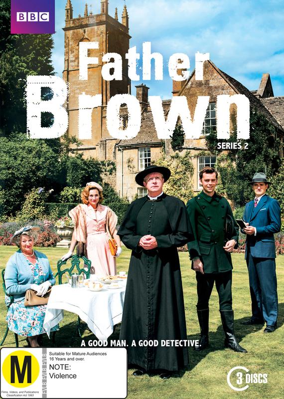 Father Brown - Season Two on DVD