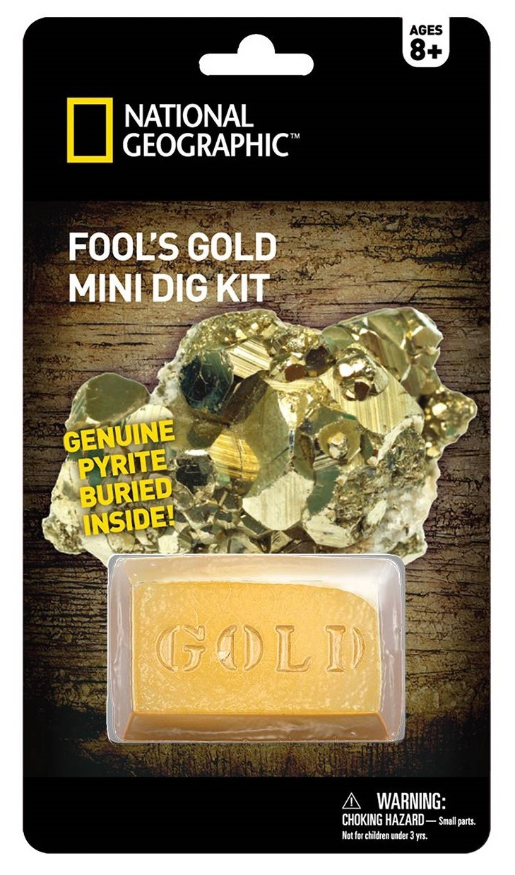 National Geographic: Fool's Gold - Mini-Dig Kit image