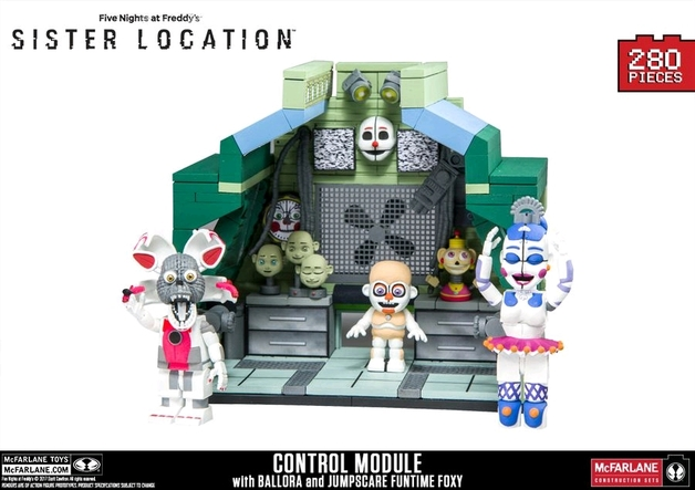Five Nights at Freddy's: Sister Location - Control Module Large