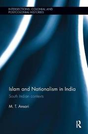 Islam and Nationalism in India by M. T. Ansari image