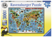 Ravensburger: 300 Piece Puzzle - Animals of the World