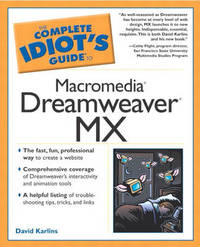 The Complete Idiot's Guide to Macromedia Dreamweaver 5 by David Karlins image