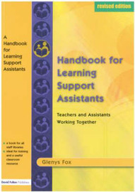 A Handbook for Learning Support Assistants by Glenys Fox image