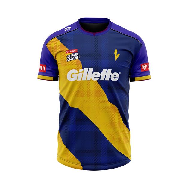 Otago Volts Replica Playing Shirt (2XL)