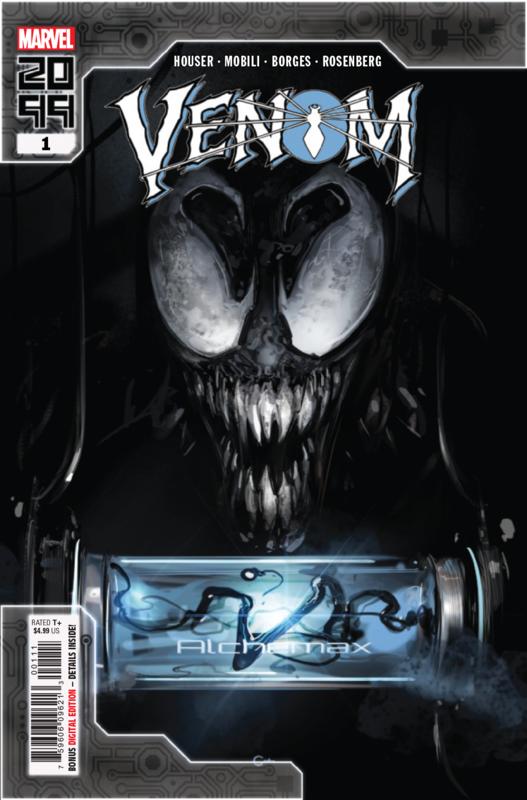 Venom (2099) - #1 (Cover A) by Jody Houser