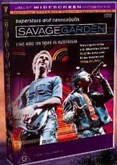 Savage Garden Super Stars & Cannon Balls on DVD