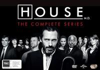 House, M.D. - Seasons 1-8 DVD