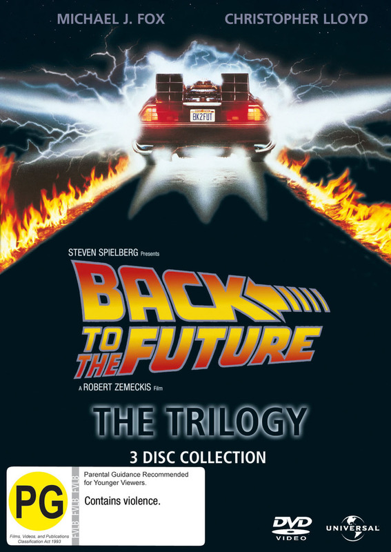 Back To The Future Trilogy Pack on DVD