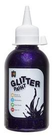 EC Colours - 250ml Glitter Paint - Fairy Purple