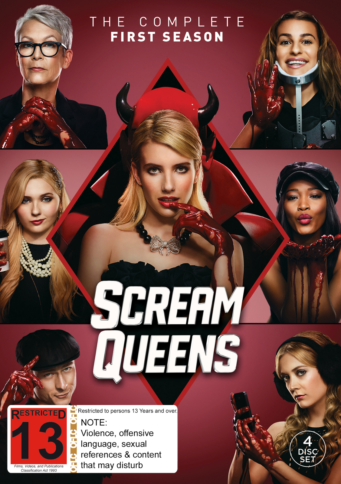 Scream Queens  Temporada 1  HDTV  Inglés/Subtitulado