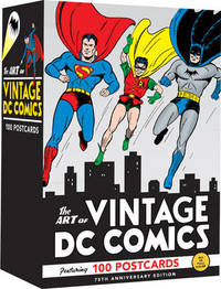 The Art of Vintage DC Comics: 100 Postcards by DC Comics