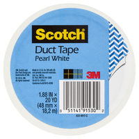 Scotch Duct Tape - Pearl White (48mm x 18.2m) image