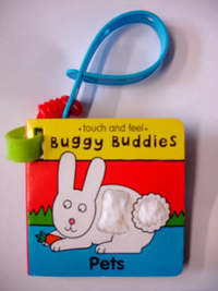 Touch & Feel Buggy Buds:Pets by Jo Lodge image