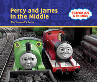 Percy and James in the Middle (Thomas & Friends) image