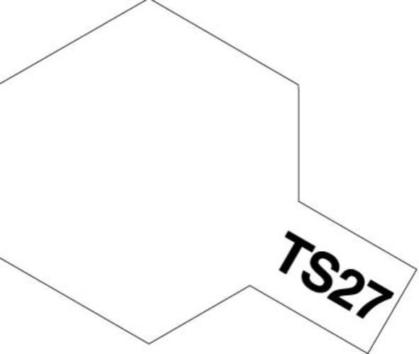 Tamiya TS-27 Matt White - 100ml Spray Can image
