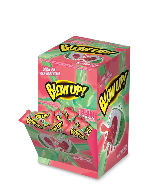 Blow Up! Liquid Filled Bubble Gum Watermelon 120pk