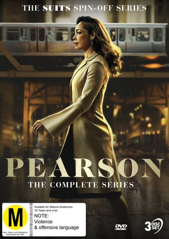 Pearson - The Complete Series on DVD