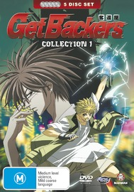 Get Backers - Collection 1 (5 Disc Fatpack) on DVD image