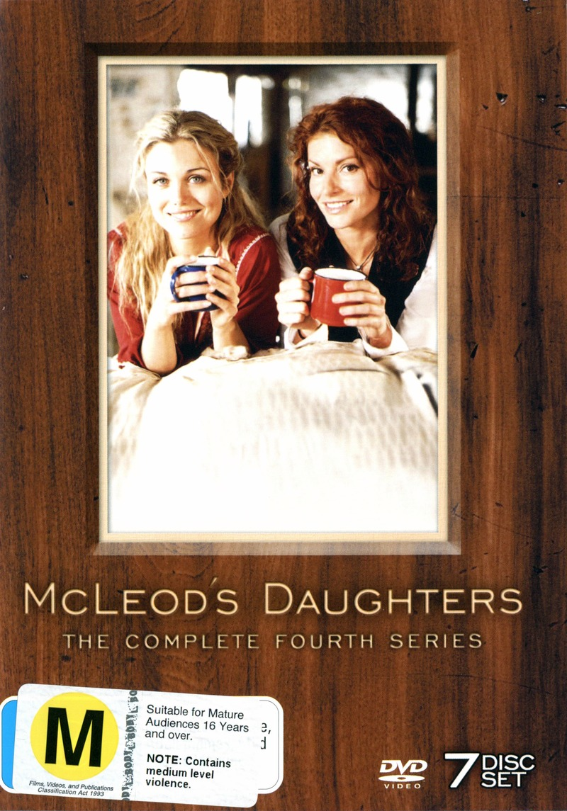 McLeod's Daughters - Complete Season 4 (7 Disc Set) on DVD image