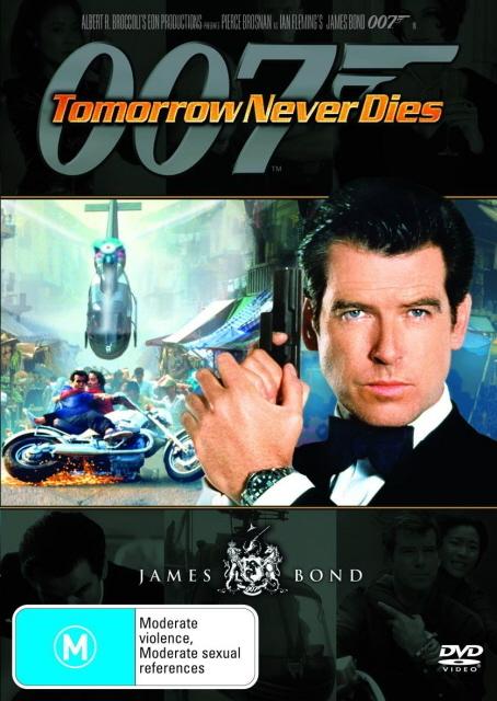 James Bond - Tomorrow Never Dies on DVD