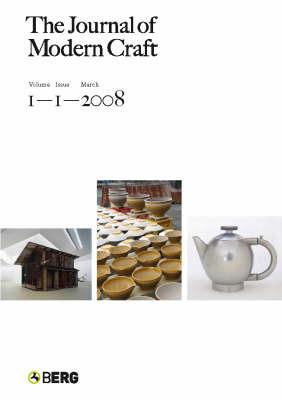 The Journal of Modern Craft