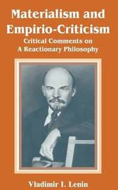 Materialism and Empirio-Criticism by Vladimir Il?ich Lenin image