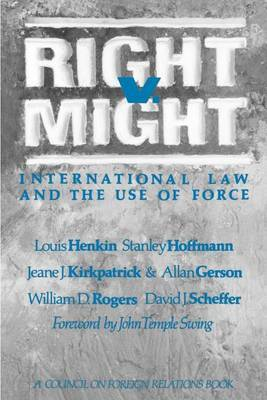 Right V. Might by Louis Henkin