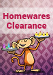 Homewares Clearance