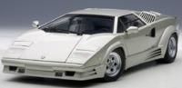 Autoart: 1/18 Lamborghini Countach 25th Anniversary Edition (Silver)