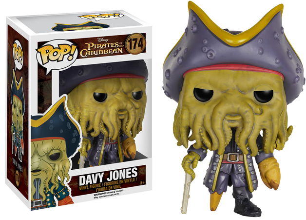 Pirates of the Caribbean: Davy Jones Pop! Vinyl Figure