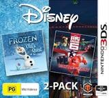 Disney Frozen & Big Hero 6 Double Pack for Nintendo 3DS
