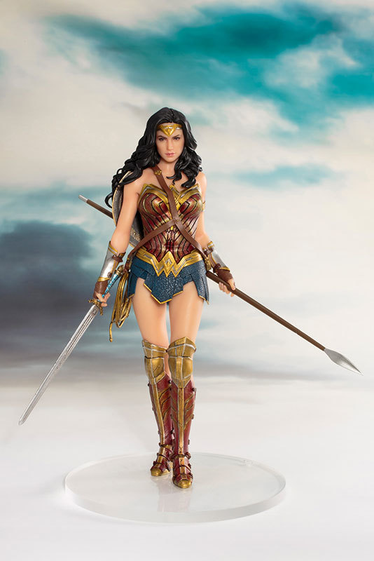 Justice League : 1/10 Wonder Woman - Artfx+ Figure Set