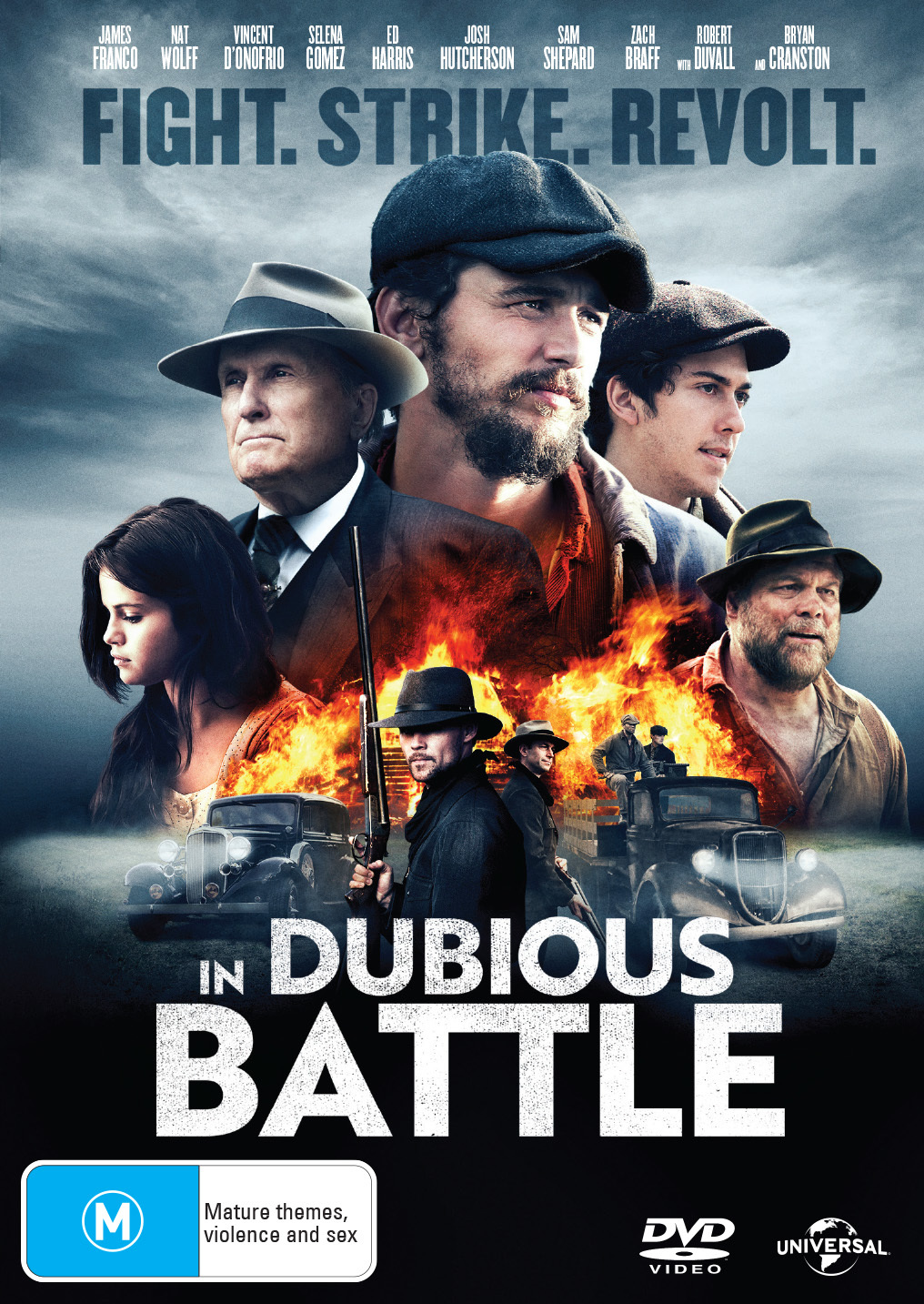 In Dubious Battle on DVD image