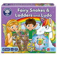Orchard Toys : Fairy Snakes & Ladders Ludo