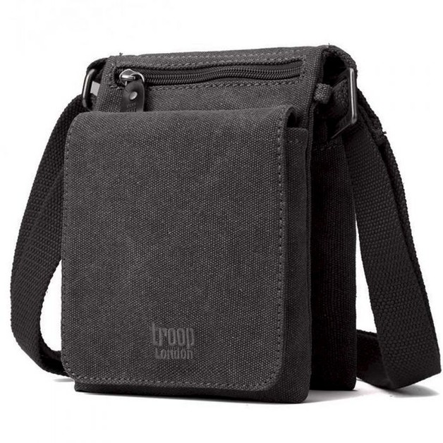 Troop London: Classic Mini Body Bag - Black