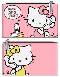 Loungefly: Hello Kitty - How Are You Pink Bifold Wallet