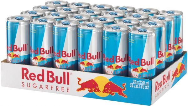 Red Bull Sugarfree Energy Drink 250ml Can (24pk) image