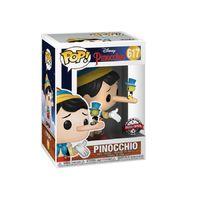 Disney: Pinocchio with Jiminy Pop! - Pop! Vinyl Figure