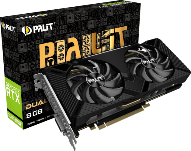 NVIDIA GeForce RTX 2060 SUPER DUAL 8GB Palit GPU