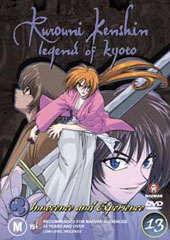Rurouni Kenshin - V13 - Innocence and Experience on DVD