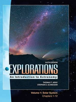 Lsc Explorations Volume 1: Solar System (Ch 1-12) by Arny Thomas image
