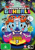 The Amazing World of Gumball - Volume 2 on DVD