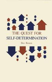 The Quest for Self-Determination by Dov Ronen image