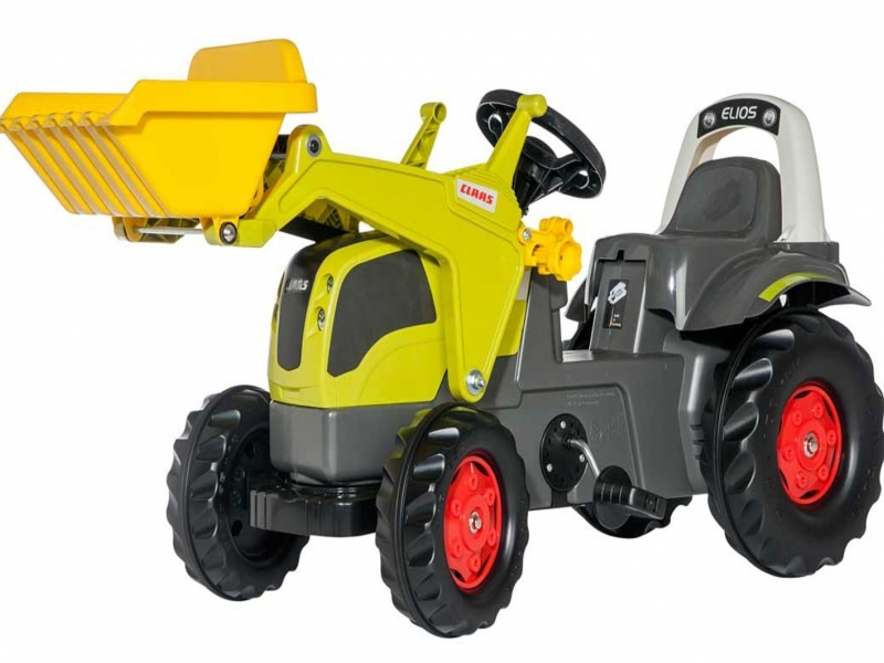Rolly Kid - Rolly Kid Claas Elios with Front Loader image