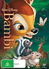 Disney Bambi on DVD