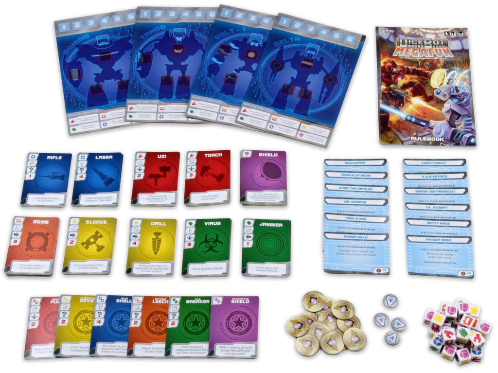 DiceBot MegaFun - Card Game image