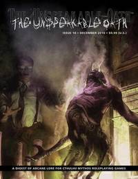 The Unspeakable Oath Issue 18 by Shane Ivey